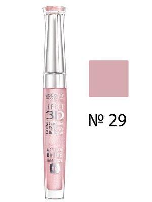 Блеск для губ Effet 3D Balm № 29 - жемчужно-розовый (5,7 мл) | 707981