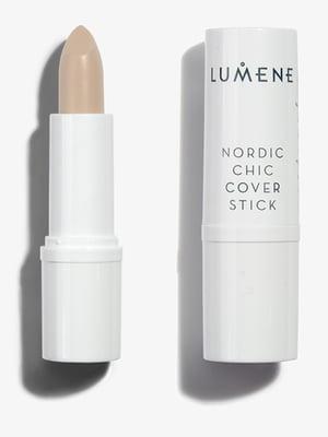 Коректор для обличчя Nordic Chic Cover Stick - №1 — Natural Beige (3 г) - Lumene - 3957159