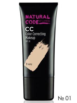CC-крем тонирующий NC CC Makeup SPF 20 № 01 - слоновая кость (25 мл) | 2120070