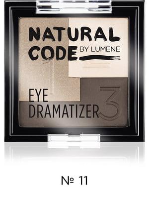 Тени тройные устойчивые Nc Eye Dramatizer - №11 - Sandy (3,5 г) | 3926015