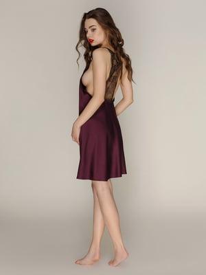 Сорочка нічна фіолетова | 4160665