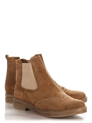 Ботинки коричневые   4113976