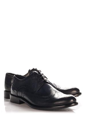 Туфли темно-синие | 4113990