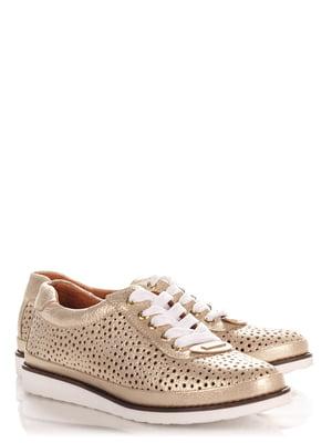 Туфли золотистые | 4113977