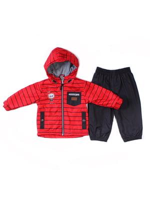 Комплект: куртка на флісі і штани | 4169411