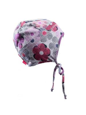 Шапка в цветочный принт - Peluche & Tartine - 4169448
