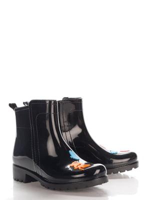 Ботинки черные | 4141860