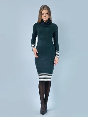 Платье темно-зеленое | 4170155
