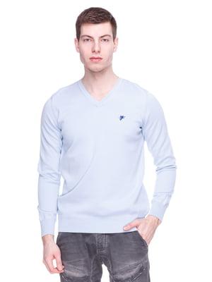 Пуловер голубой | 3791168