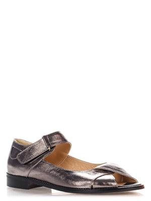 Туфлі бронзового кольору | 4135696