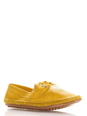 Туфли желтые   4135673