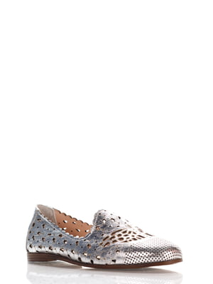 Туфлі сріблясті | 4135654