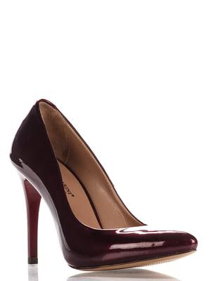 Туфли бордовые | 3725479