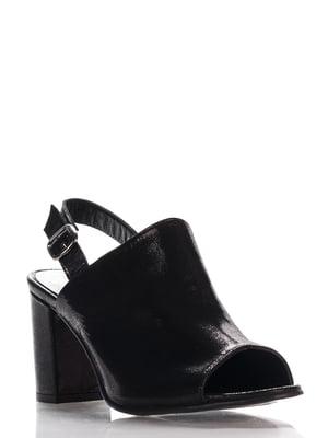 Босоножки черные | 4135658