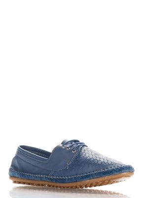 Туфли синие   4135672