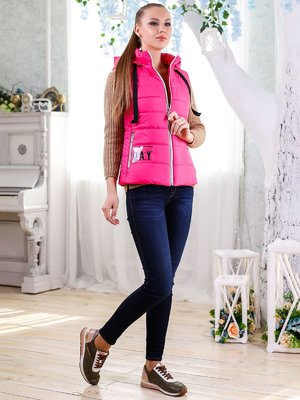 Жилет розовый   4176341