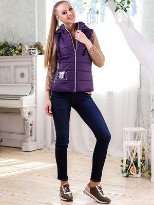 Жилет фиолетовый   4176350
