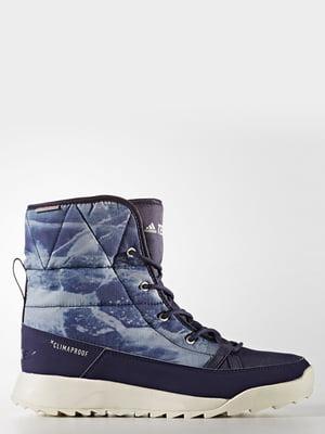 Ботинки синие | 4104030
