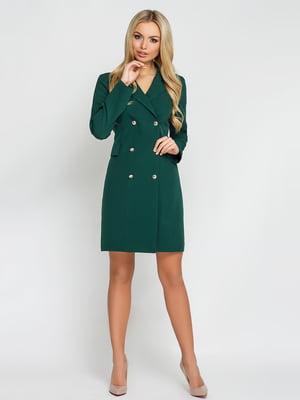 Платье темно-зеленое | 4178131