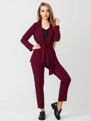 Костюм: жакет и брюки | 4178137
