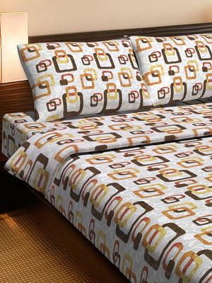 Комплект постельного белья двуспальный (евро) | 4141703