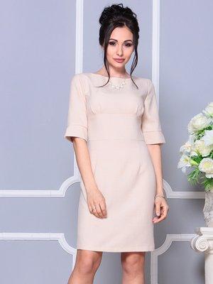 Платье бежевое | 4178080