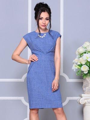 Платье синее | 4178090