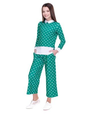 Костюм: блуза і кюлоти | 4176648