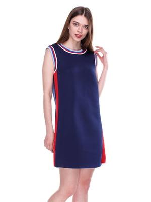 Платье темно-синее | 4176687
