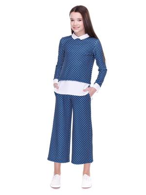 Костюм: блуза і кюлоти | 4176644