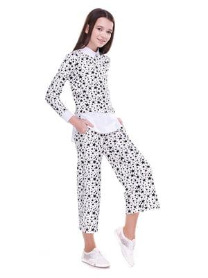 Костюм: блуза и кюлоты | 4176645