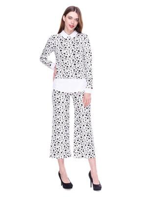 Костюм: блуза и кюлоты | 4176668