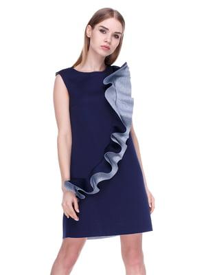 Платье темно-синее | 4176684