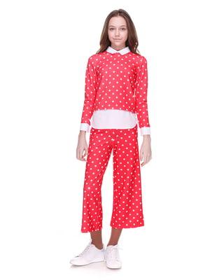 Костюм: блуза і кюлоти | 4176643