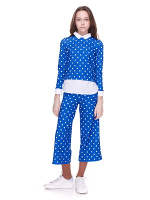 Костюм: блуза і кюлоти | 4176647
