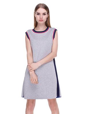 Платье серое | 4176685