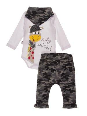 Комплект: боді, штани і косинка   4171398