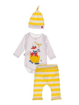 Комплект: боді, штани і шапка   4171402