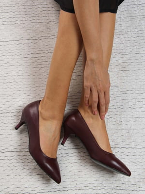 Туфли бордовые | 4184255