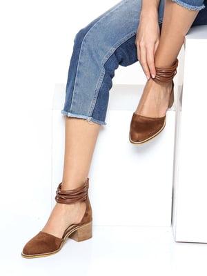 Туфли табачного цвета | 4185322