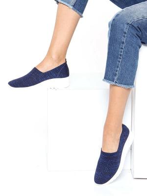 Кроссовки синие | 4185372