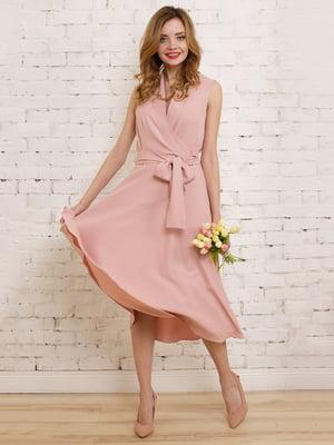 Платье цвета пудры   4183014