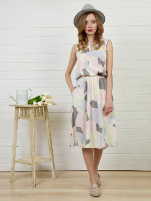 Платье в геометрический принт   4183027