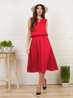 Платье красное | 4183031