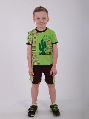 Комплект: футболка и шорты | 4182792