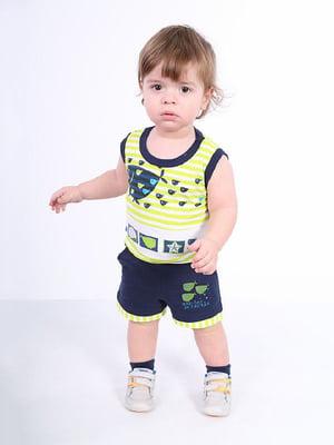 Комплект: майка и шорты | 4182831