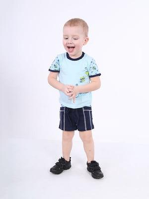 Комплект: футболка и шорты | 4182833