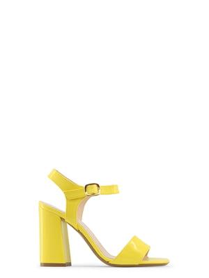 Босоножки желтые   4178618