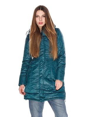 Пальто зелене | 4009010