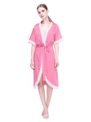 Халат рожевий | 4182693